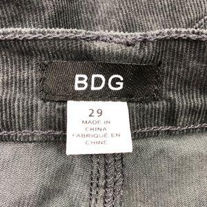 BDG Pants - BDG   Corduroy Grey Super High Rise Crop Flare
